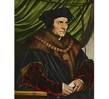 Sir Thomas More Painting Photographic Print