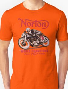 NORTON MOTORCYCLE VINTAGE ART Unisex T-Shirt
