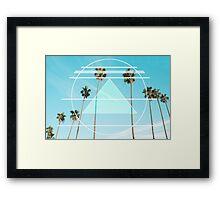 Berkeley Palms Framed Print