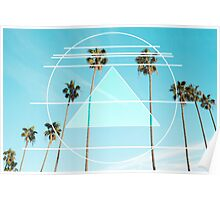 Berkeley Palms Poster