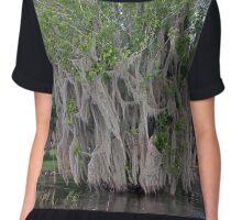 Spooky Swamp Tree Chiffon Top
