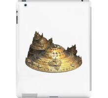 Fractal Sci-Fi City of Gold iPad Case/Skin