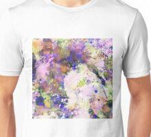 Colour Turmoil - Multi Coloured Abstract Painting Unisex T-Shirt