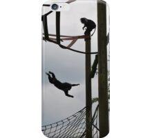 Flying monkey iPhone Case/Skin