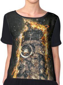 Doctor Who - Exploding Dalek Chiffon Top