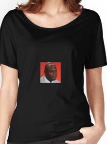 Michael Jordan Crying Meme Women's Relaxed Fit T-Shirt