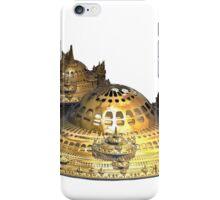 Fractal Sci-Fi City of Gold iPhone Case/Skin