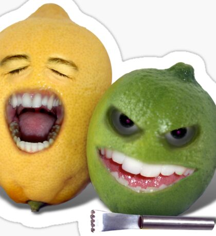 Beware the Lemon Zester Sticker