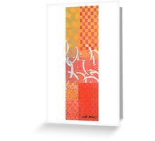 Serenity and Sunset Twins of Love Greeting Card