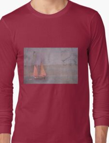 Sailing the Channel Long Sleeve T-Shirt