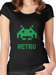 Retro - Invader Women's Fitted Scoop T-Shirt