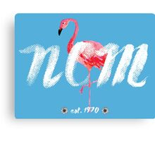 NCM - Let Your Flamingo Flag Fly Canvas Print