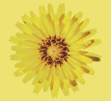 Yellow Everlastings Baby Tee