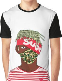 Lil Kakashi Uzi Graphic T-Shirt