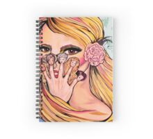Barbie Fingers Spiral Notebook