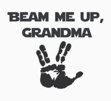 Beam Me Up Grandma One Piece - Short Sleeve