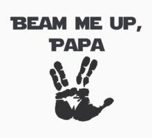 Beam Me Up Papa Baby Tee
