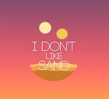 I Don't Like Sand by Elise Jimenez