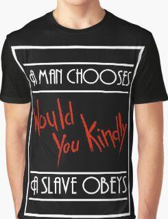A Man Chooses... Graphic T-Shirt