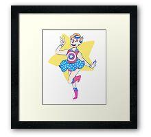 Sailor America Framed Print