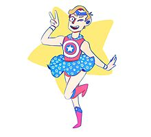 Sailor America Photographic Print