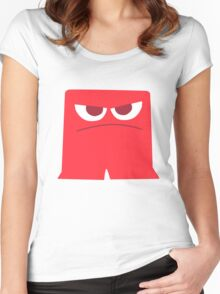 Anger Women's Fitted Scoop T-Shirt