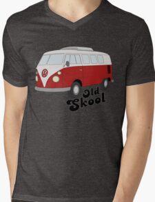 Old-Skool Mens V-Neck T-Shirt