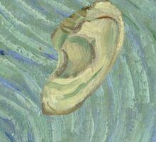 Van Gogh - Self-portrait Sticker