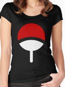 *Uchiha Clan Logo* Women's Fitted Scoop T-Shirt