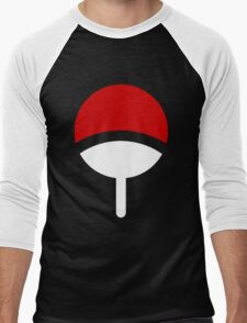 *Uchiha Clan Logo* Men's Baseball ¾ T-Shirt