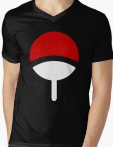 *Uchiha Clan Logo* Mens V-Neck T-Shirt