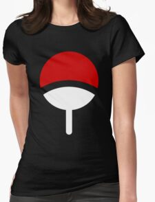 *Uchiha Clan Logo* Womens Fitted T-Shirt