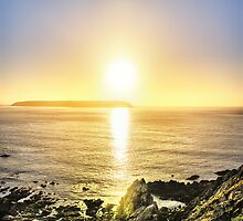 Titahi Bay Sunset, Wellington, NZ by SeeOneSoul