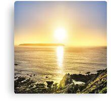 Titahi Bay Sunset, Wellington, NZ Canvas Print