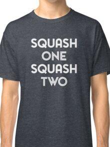 Squash One (white print) Classic T-Shirt
