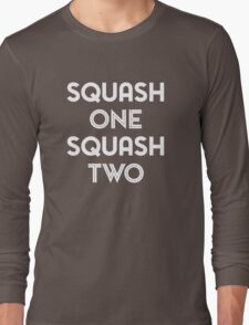 Squash One (white print) Long Sleeve T-Shirt