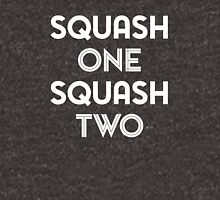 Squash One (white print) Unisex T-Shirt