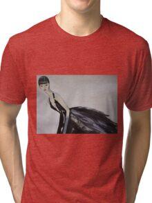 Ming  (Self-Portrait) Tri-blend T-Shirt