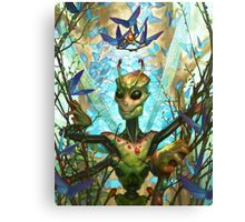 The Insect King's Coronation Canvas Print