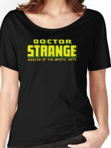 Doctor Strange - Classic Title - Clean Women's Relaxed Fit T-Shirt