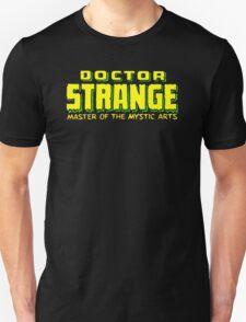 Doctor Strange - Classic Title - Clean Unisex T-Shirt