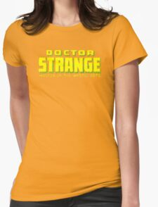 Doctor Strange - Classic Title - Clean Womens Fitted T-Shirt