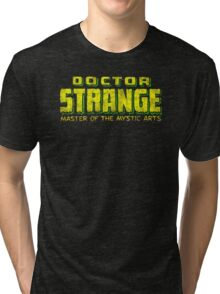 Doctor Strange - Classic Title - Dirty Tri-blend T-Shirt