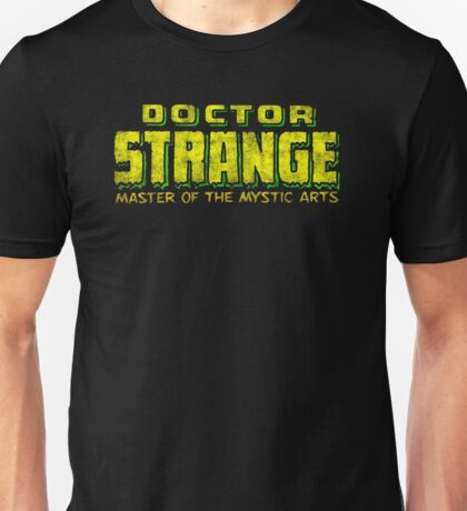 Doctor Strange - Classic Title - Dirty Unisex T-Shirt
