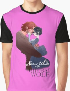 Snow White and the Big Bad Wolf Graphic T-Shirt