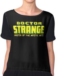 Doctor Strange - Classic Title - Clean Chiffon Top