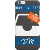 Down in the DM iPhone Case/Skin