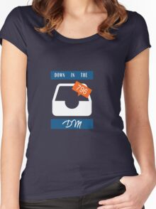 Down in the DM Women's Fitted Scoop T-Shirt