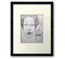 Drag Framed Print