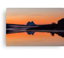 Suilven Reflections at Dusk Canvas Print